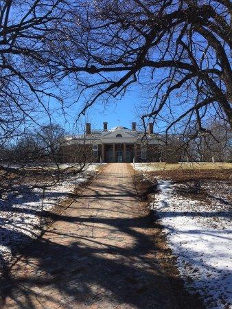 Foto de Monticello, residencia de Thomas Jefferson