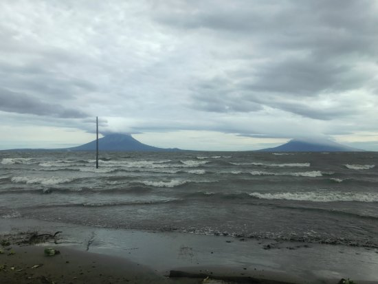 Tico Tours Guanacaste: Nicaragua: Lake Nicaragua and Ometepe with vocanoes Concepcion (left) and Maderas (right)