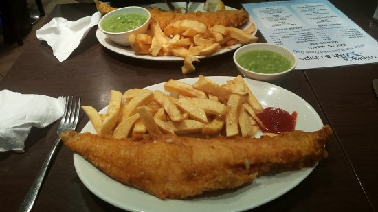Micky's Fish and Chips: Fish and chips