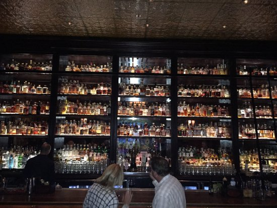 Untitled Supper Club: Enormous whisky bar!!!