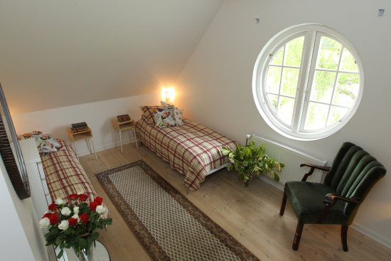 Værløse, Danmark: The rooms are individually furnished