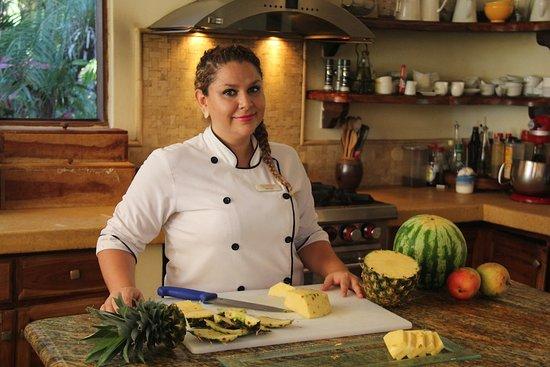 لوس ألتوس دي إروز: Chef Zulay will personally attend your food preferences.  