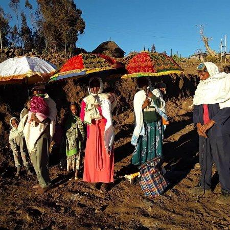 Ankober, Ethiopia: sprituality of ppl