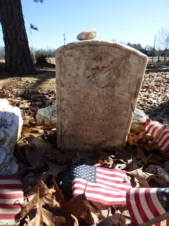 Buford Battleground: grave