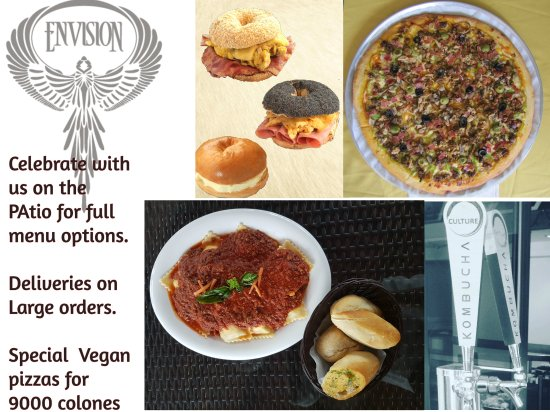 The Baker Bean: We will be at Envision Festival & full menu options at our restaurant