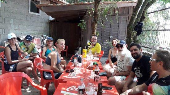 Barra do Ribeiro, RS: Almoço no Caçarola