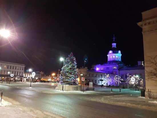 Kingston Brewing Company: A nice winter walk in downtown Kingston after Christmas
