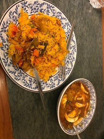 Royal India: Food, dry rice