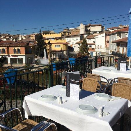 Alfacar, España: Espectacular terraza