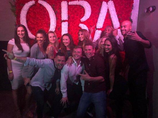 SoBe Hostel : Ora Nightclub, one of the nightly trips. With people we met just days before!