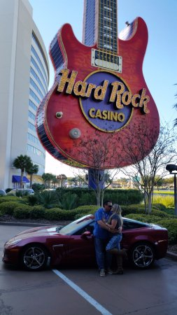 Hard Rock Hotel & Casino Biloxi: In front of Hard Rock, Biloxi!