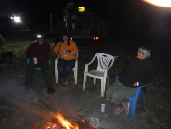 Chitimba, มาลาวี: Around the camp fire