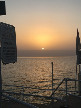 ‪‪Ron Beach Hotel‬: Sunrise over the sea of galilee‬