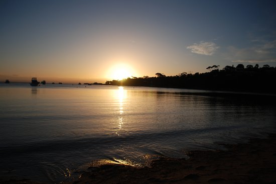 Freycinet, Αυστραλία: Sunset at Richardsons beach