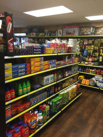 Saint Mary, MT: Fully stocked convenience store
