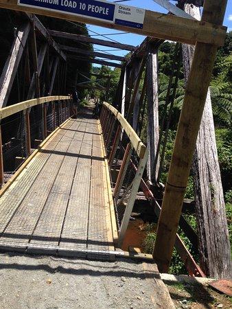 Kaikohe, Nueva Zelanda: Swingbridge