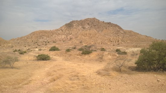 Tucume, Peru: pirâmide erodida