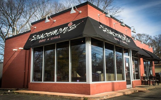 Sauceman's: You will find us on the corner of West Blvd and South Tryon