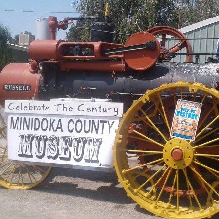 Rupert, ID: Russell Steam Tractor