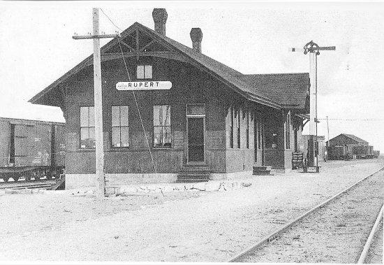 Rupert, ID: 1906 Railroad Depot