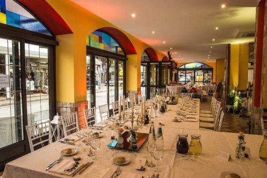 Matrimonio Spiaggia Bibione : Alcuni scatti della sala per il matrimonio picture of ristorante