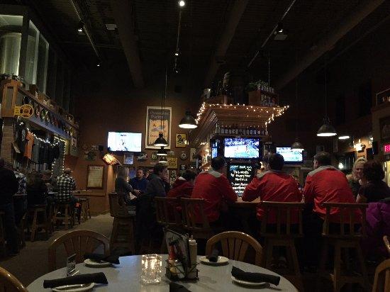 Delafield, WI: Bar area.