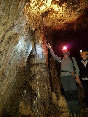 Alcara li Fusi, Italia: Interno della Grotta