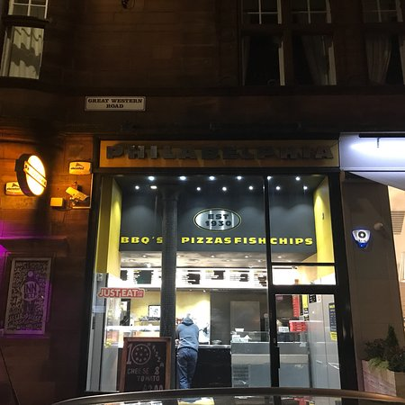 Restaurants philadelphia fish chicken bar in glasgow for Fish restaurant philadelphia