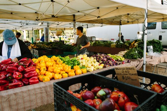 Santa Monica, Californie : Virginia Ave. Park/Pico Boulevard Farmer's Market