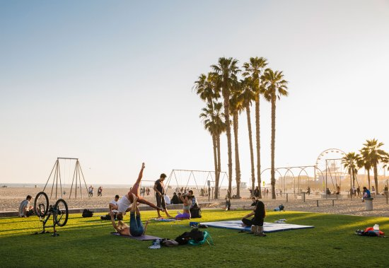 Santa Monica, CA: Original Muscle Beach