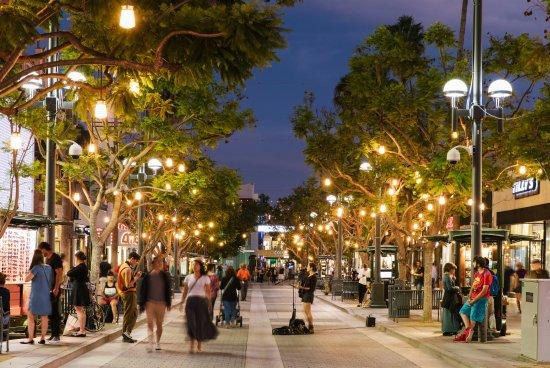 Santa Monica, Kalifornien: Third Street Promenade