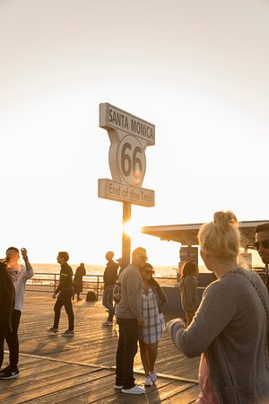 Santa Monica, CA: Route 66 Sign