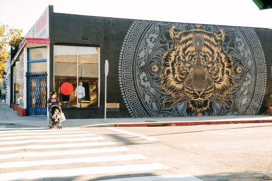 Santa Monica, Kalifornien: Pico Boulevard Street Art