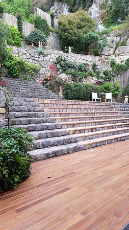 Conca Park Hotel: Olive terrace