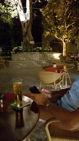 Conca Park Hotel: Main terrace