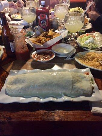 Loxley, AL: Mucho Grande Burrito