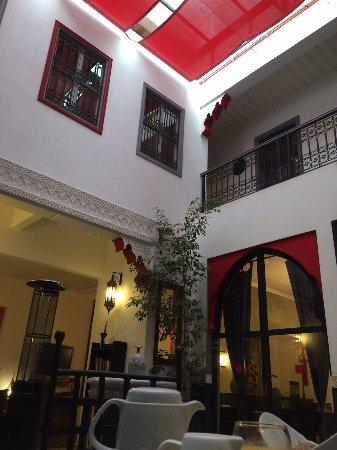 Riad Alegria: Wonderful patio