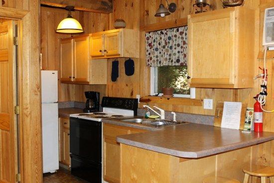 Cabin Wanderlust Kitchen Picture Of Lost Creek Cabins Reliance Tripadvisor