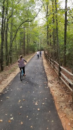 The Lodge and Spa at Callaway Resort & Gardens: bike ride around the property