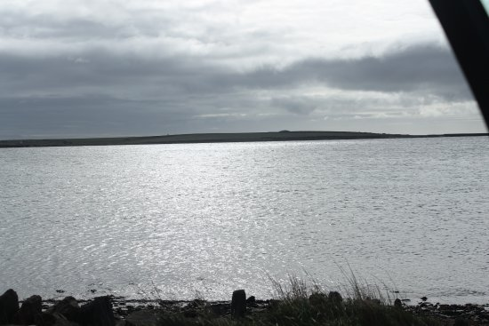 Holm, UK: looking out to sea