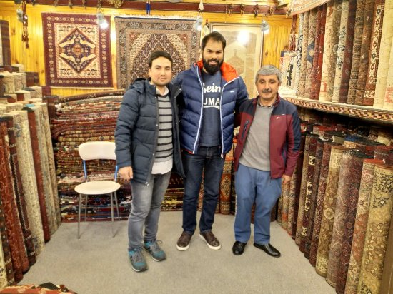 Troy Rug: Amazing shop, great collection