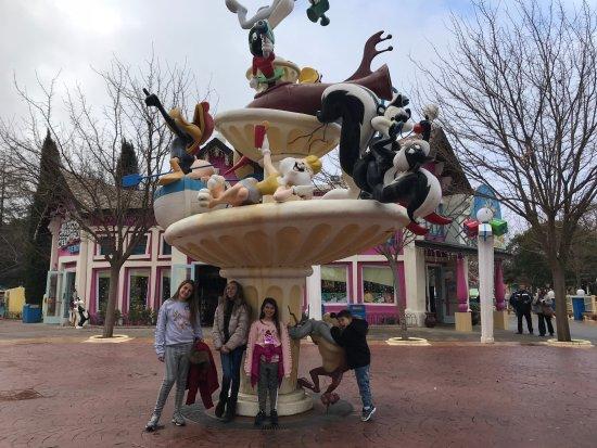 Parque Warner Madrid : Cartoon Land