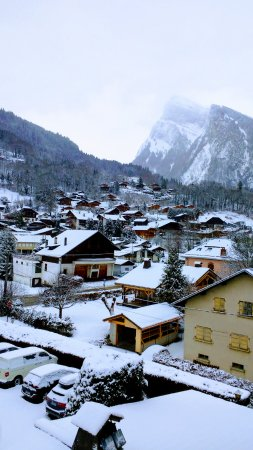 Hotel Neige Et Roc : View from our room