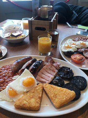 The Durley Inn Harvester: Great food