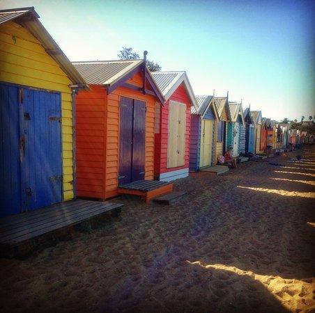 Brighton, Australien: Beach boxes