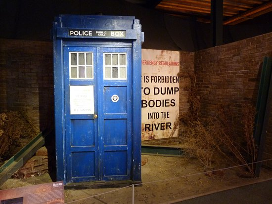 tardis picture of doctor who experience cardiff bay cardiff