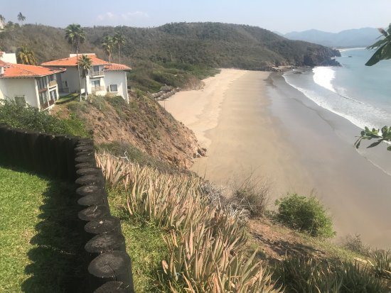 Punta Serena: View of the perfect beach.