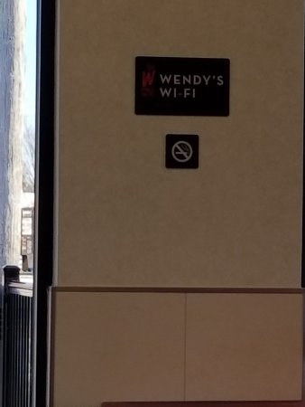 Wendy's: and free wifi!