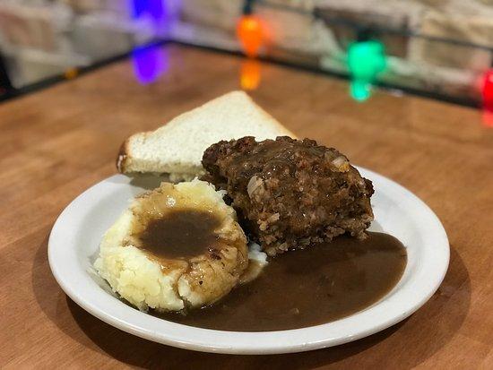 Edmore, MI: Meat Loaf w/Mashed Potatoes & Gravy