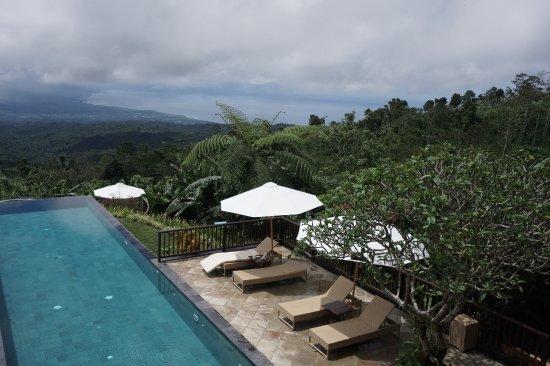 Gobleg, Indonésie : Pool area
